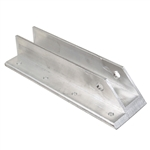 Offset Right Spring Mounting Bracket - Aluminum