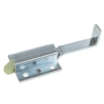 Slam Latch - Finger Pull - Blue Zinc Plated