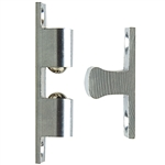 Small Chrome Ball Tension Door Catch