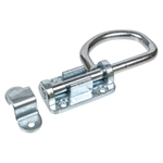 Bolt Latch - Loop Handle - Zinc Plated