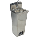 Hand Sink w/ Foot Operated Valve (No Lead Faucet)