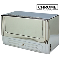 Paper Towel Cabinet - Chrome - 13""