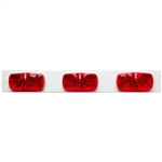 3 Large LED Marker Lights - Strip