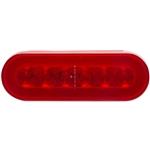 28 LED GLO Light Bar Red/Clear - 17""