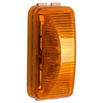 6 LED Rectangular Clearance Marker Amber