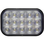 15 LED Rectangular Auxiliary/Utility Light