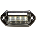 4 Super Bright LED License /Utility Light