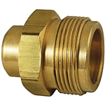 "Camping Fittings - 1/4"" FNPT x 1""-20 Male No Check (Marshall Excelsior)"