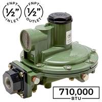 710,000 BTU Second Stage Regulator (Marshall Excelsior)