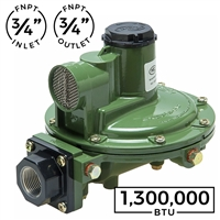 1,300,000 BTU Second Stage Regulator (Marshall Excelsior)