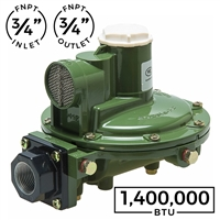1,400,000 BTU Second Stage Regulator (Marshall Excelsior)