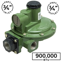 "Second Stage Regulator 3/4"" X 3/4"" Side Outlet"
