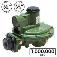 1,000,000 BTU Second Stage Regulator (Marshall Excelsior)