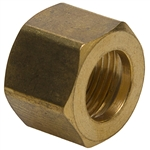 Brass Compression Nut - 10 Pack