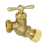 Brass No Kink Hose Bibb - Compression Inlet - Series 159