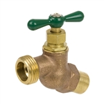 Brass No Kink Hose Bibb - Sweat Inlet - Series 169IG