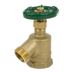Brass Bent Nose Garden Valve - FIP - Series 170L