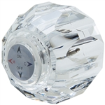 Delta Crystal Ball Faucet Handle w/ Adapter - Acrylic