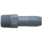 Male Adapter - Straight - MPT x Barb Insert