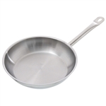 "9-1/2"" Natural Finish SS Fry Pan"