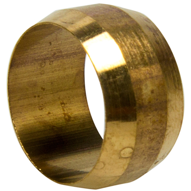 Shop brass fittings brass pipe fittings same day shipping for Poly sleeve for copper pipe